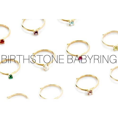 birthstone babyring