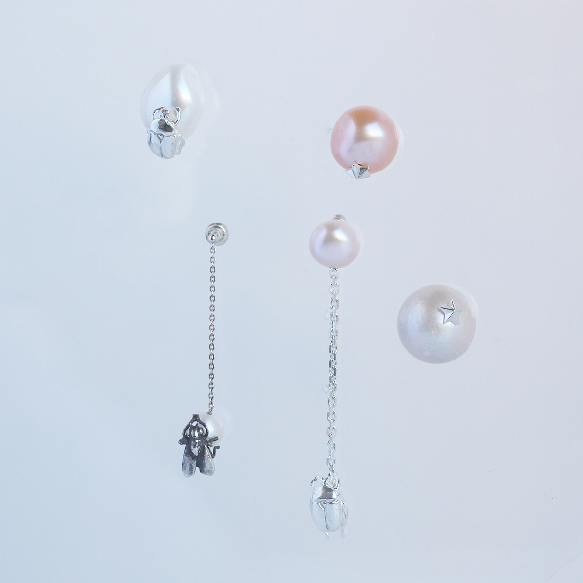 e.m._pierced earrings
