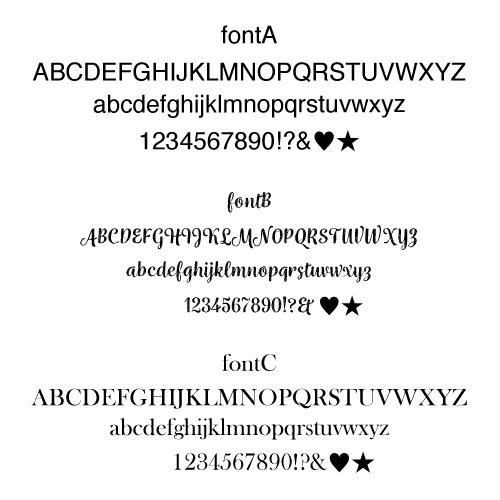 e.m._lettering_font