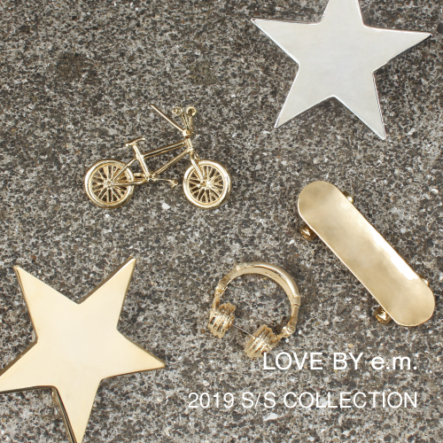 LOVE BY e.m._2019ss_top