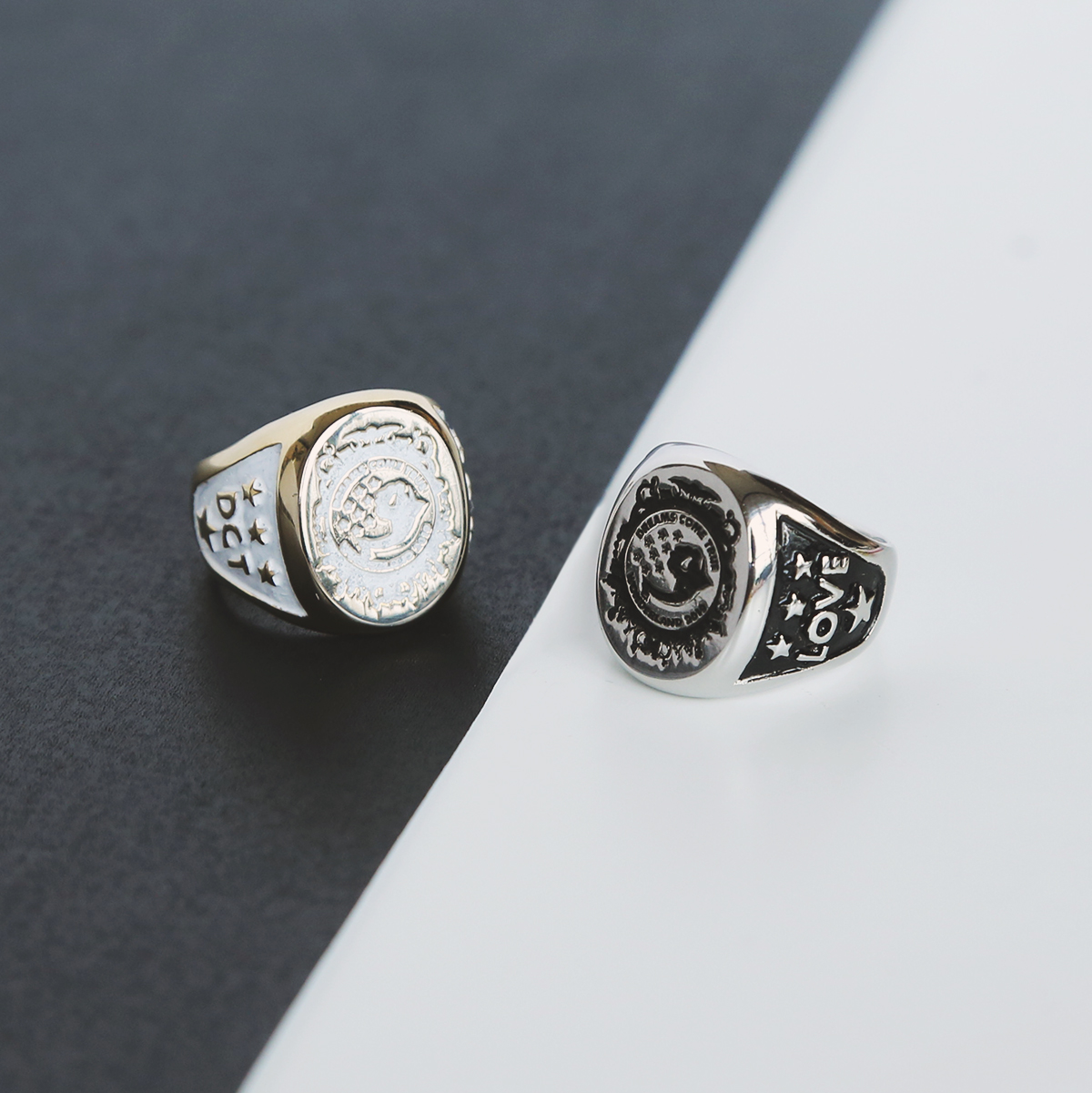 DCT×e.m._WONDERLAND College Ring__DCT-R06
