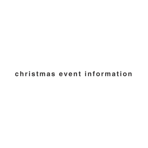 2019christmas event information