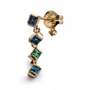 little emblem_2020ss_LE-AP209_Pierced Earring