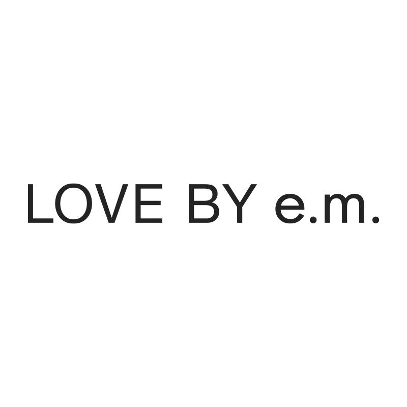 LOVE BY e.m._logo