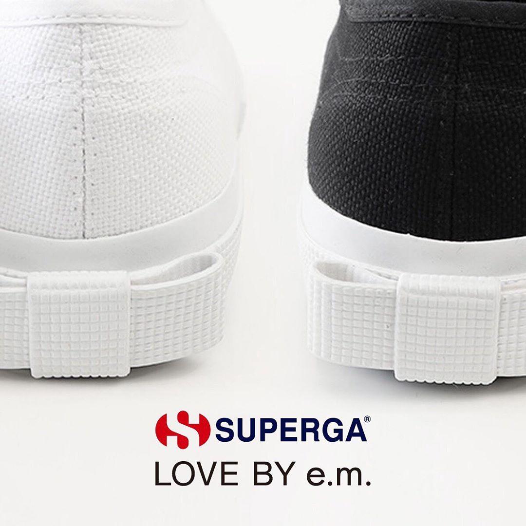 SUPERGA LOVE BY e.m.