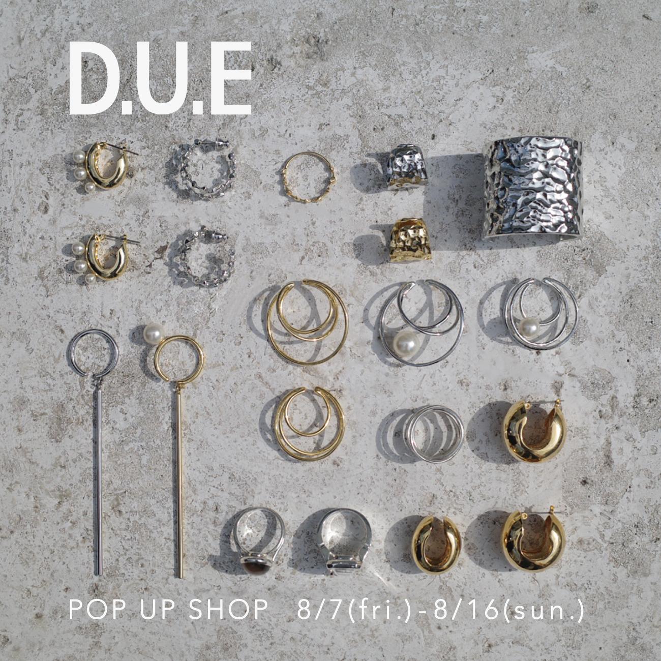 D.U.E_POP UP SHOP_渋谷PARCO