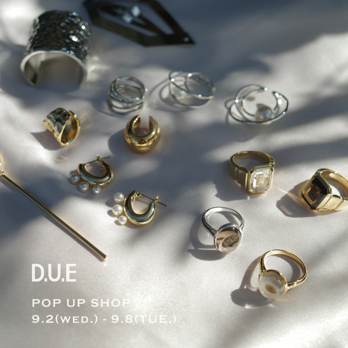 D.U.E_POP UP SHOP_福岡岩田屋