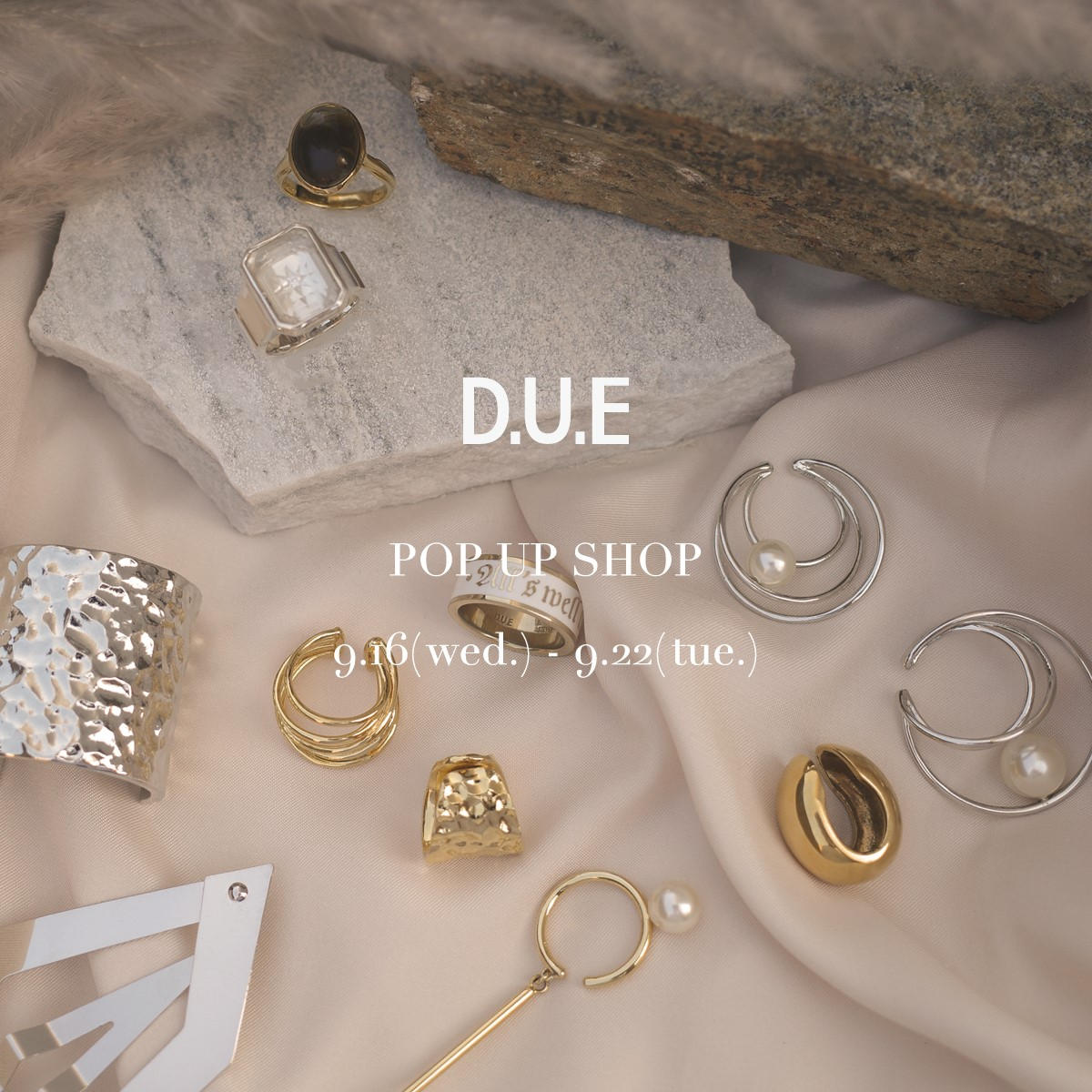 D.U.E_POP UP SHOP_阪急うめだ
